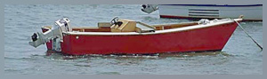 Another Boat Jate And I Have Just Finished It S A Lumber Yard Skiff With Small Inboard Ed