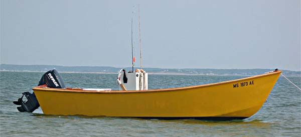 18' Wide Guide Skiff