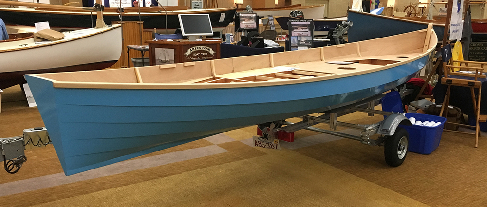 The Siine 610 at the Cape Cod Boat Builder's Show