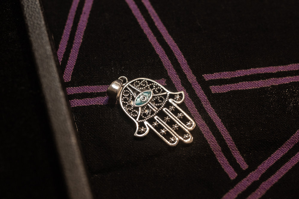 ascendant books hamsa jewelry