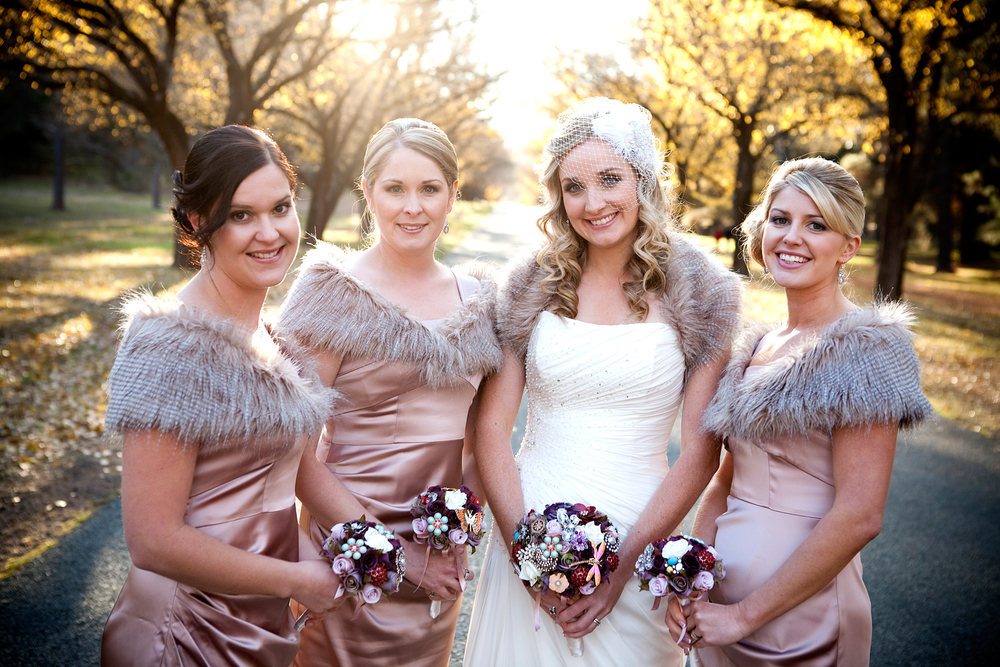 Autumn wedding photography in Canberra