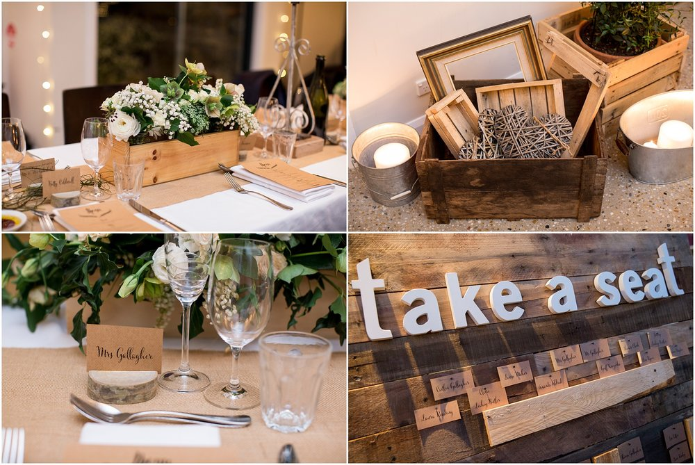 Wedding decoration inspiration at Grazing at Gundaroo.