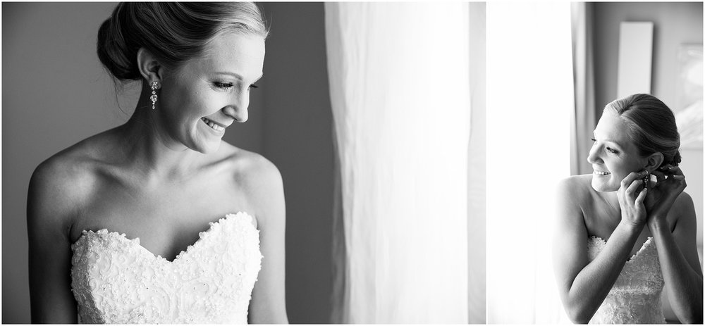 Bride getting ready at Abode Hotel, Gungahlin