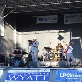 Awesome set with Jeremy Pelt at Masten Street Festival in #Buffalo #goodtimes #livemusic