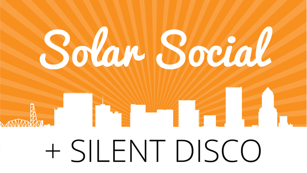 Solar Social + Silent Disco - Twende Solar - August 25, 2016 - Portland, OR