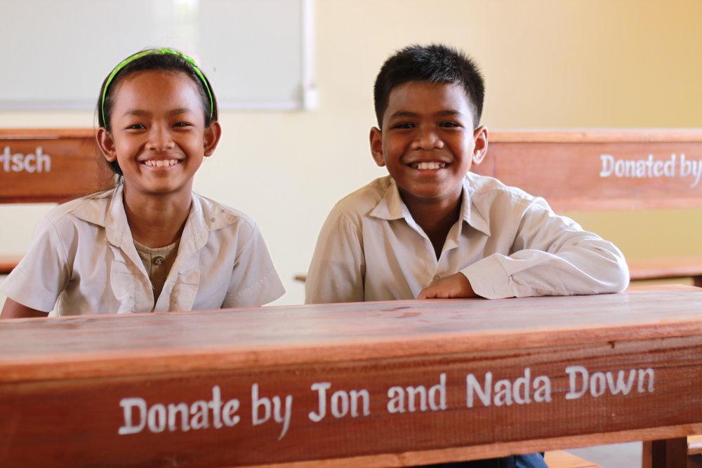 Twende Solar - 26kW Solar PV System - Stephen Mazujian Middle School - Siem Reap, Cambodia