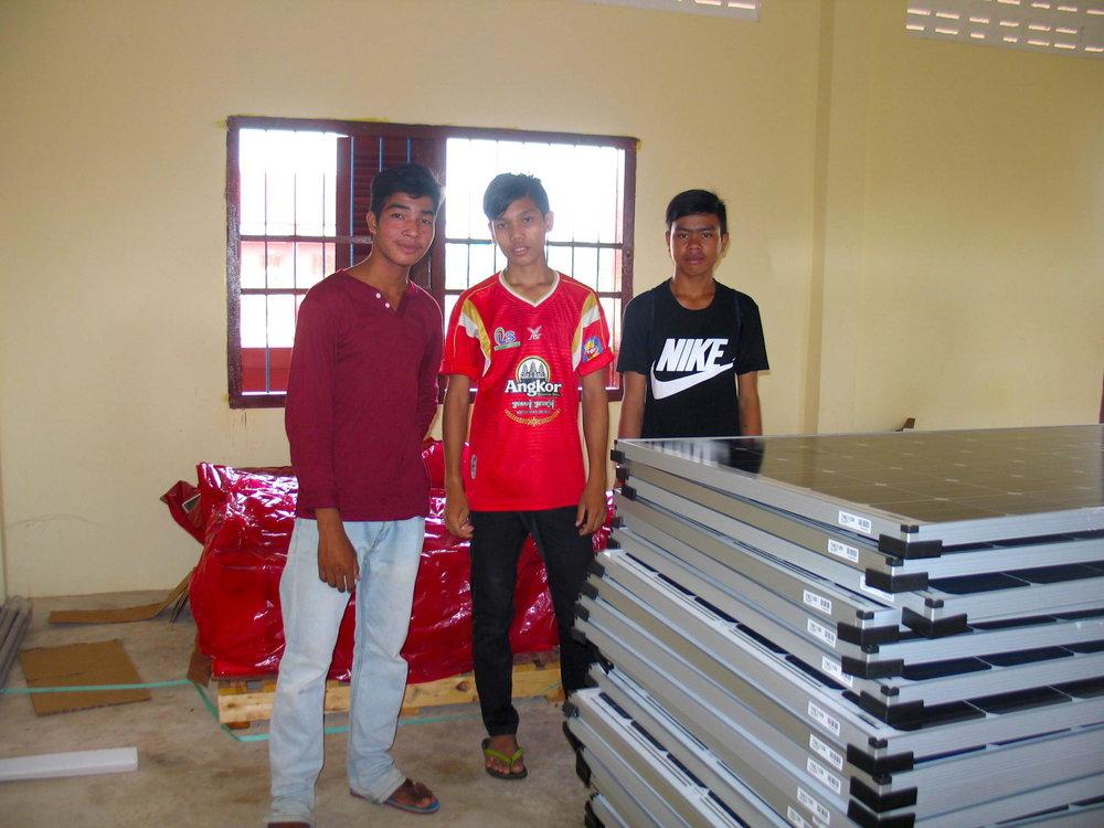 Twende Solar - Siem Reap, Cambodia - 26kW Solar PV System - Stephen Mazujian Middle School - Global ADE