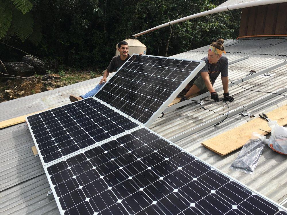 Twende Solar - Itek Energy - 6.6kW Solar PV Installation - Guatemala