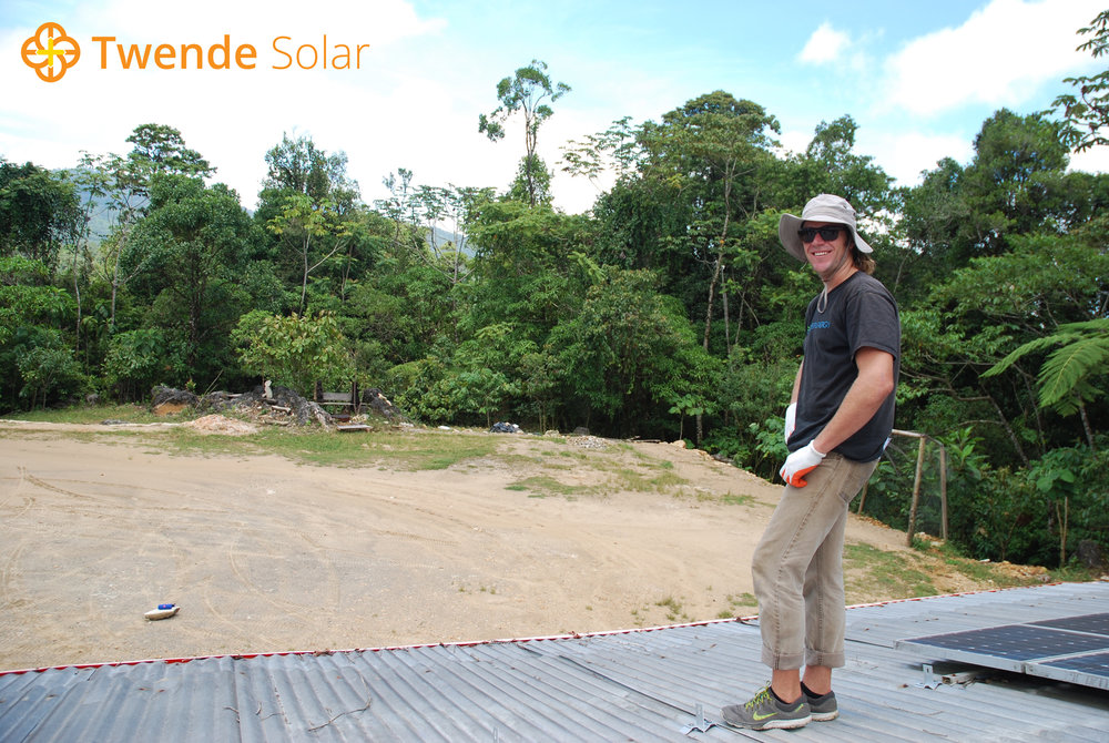 Twende Solar - Volunteer Interview: Ben Waters - 6.6kW Solar PV Install - Guatemala