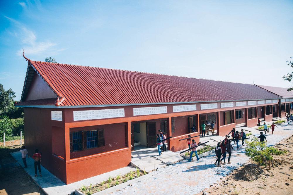 Twende Solar - 26kw Solar PV Install - Stephen Mazujian Middle School - Siem Reap, Cambodia