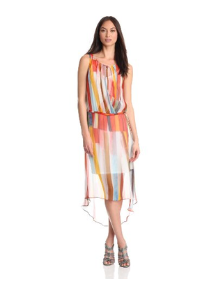 Tracy Reese Hi Low Surplice dress. Org $340