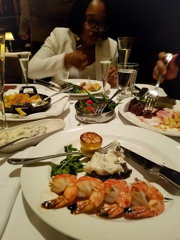 Restaurant week includes a choice of appetizer, entree, and dessert. If you have not visited Capital Grille, you should add it to your list before or after a Broadway show.