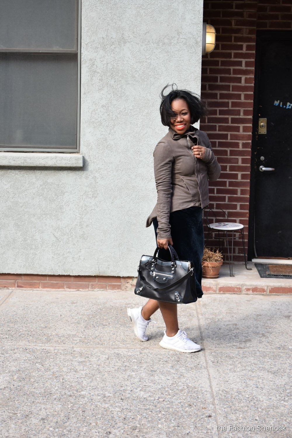 is it spring yet the fashion sherlock my sister gifted me this balenciaga for christmas word is she had to fight another lady who was eyeing this bag obviously my sister won for me