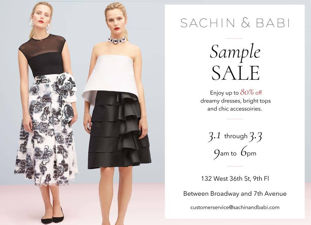 Sachin Babi Sample Sale The Fashion Sherlock