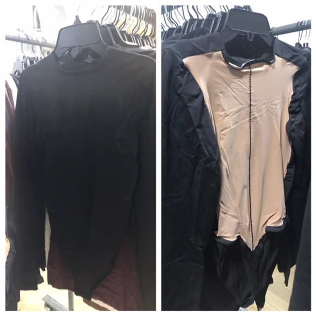 This was my favorite piece in the whole sale. Simple in front, sexy party in back. $121 sale price.