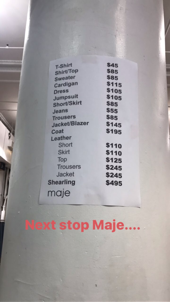 sale review: maje — the fashion sherlock