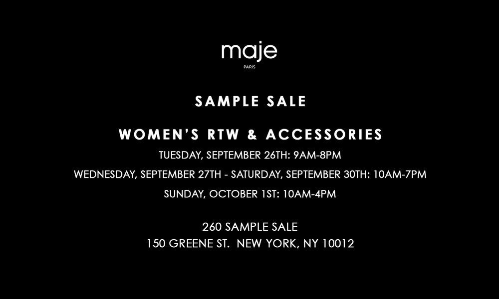Maje 260 Sample Sale.jpg