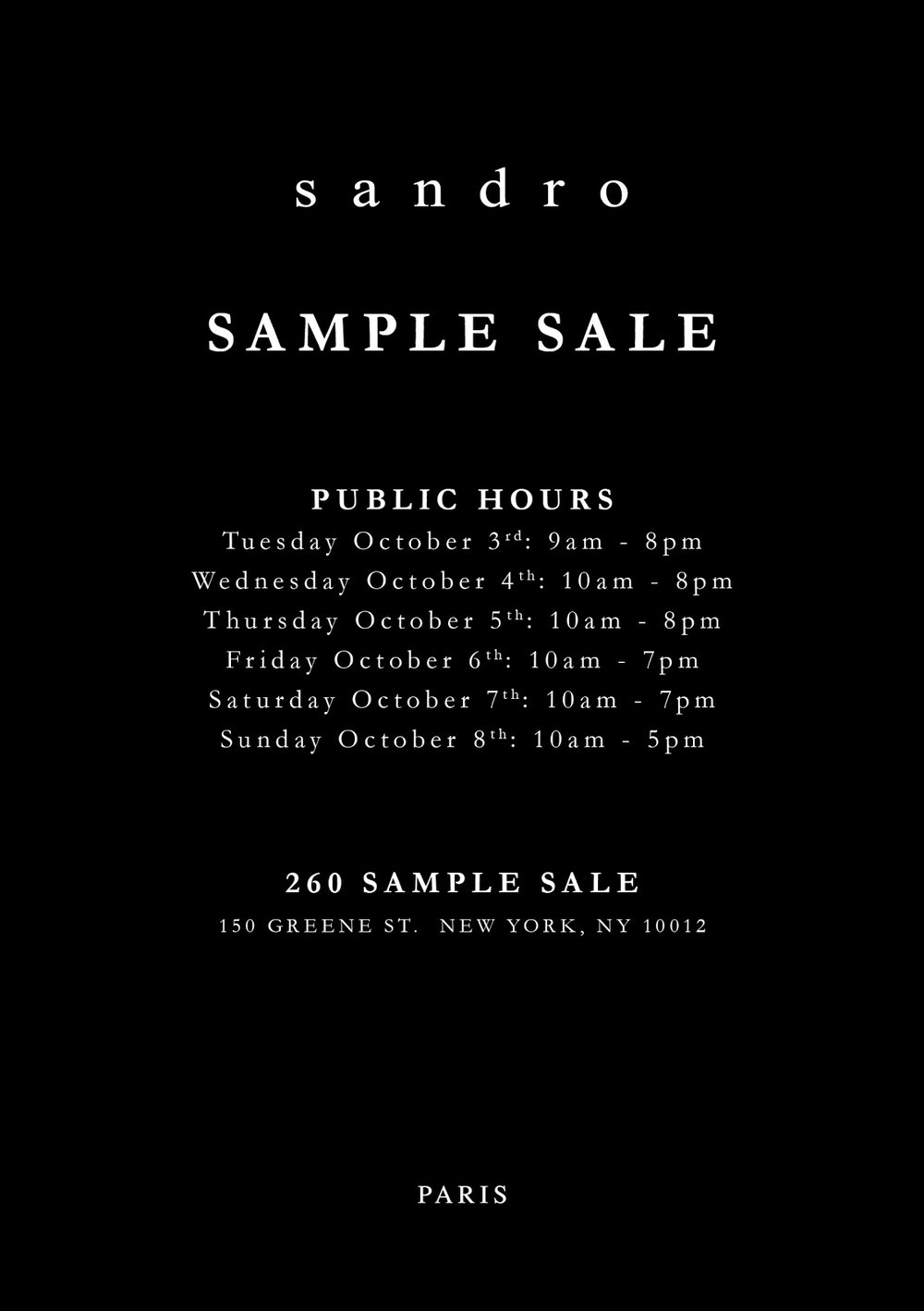 Sandro 260 Sample Sale Fall Evite Public.jpg