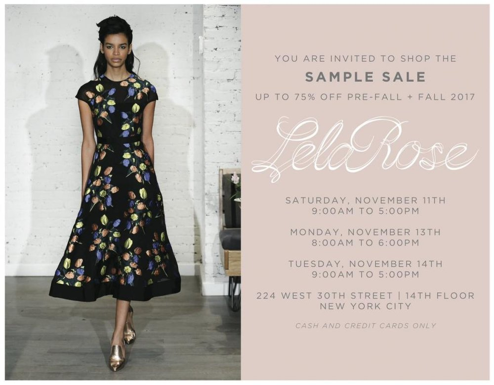 Lela Rose Sample Sale.jpg