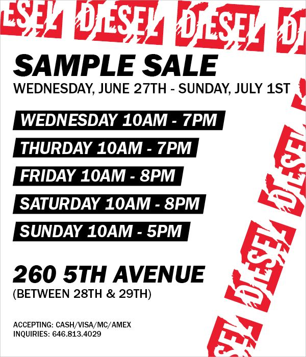 Diesel Sample Sale- New York Sample Sale.jpg