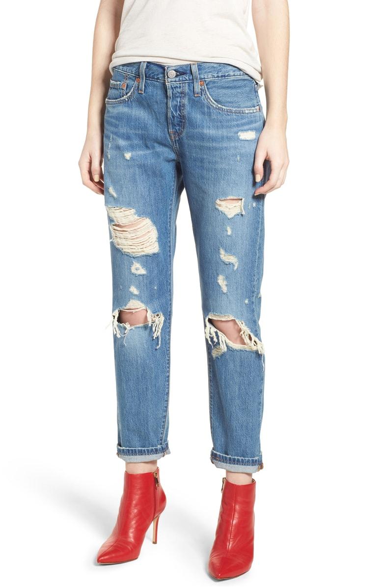 501™ Taper Ripped Boyfriend Jeans_Levis_Nordstrom Anniversary Sale.jpg
