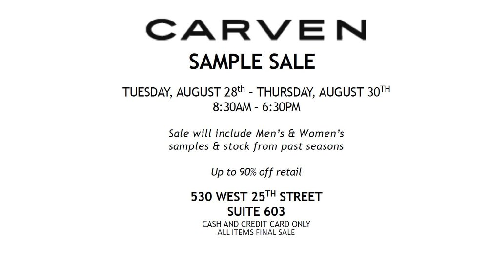 Carven Sample Sale August 2018.JPG