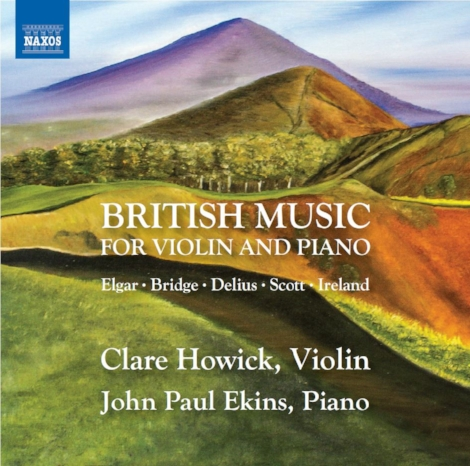 Clare's latest CD, British Music for Violin and Piano has just been released on the Naxos label https://www.amazon.co.uk/Edward-Elgar-Frank-Bridge-Cyril/dp/B074HXBGB6