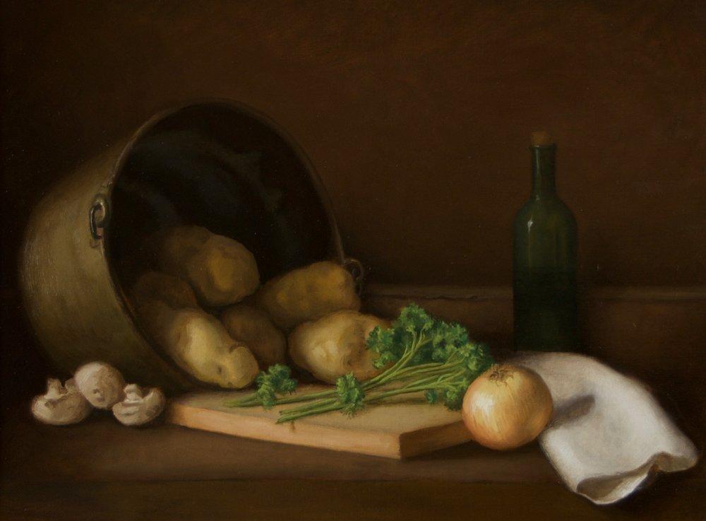 Still Life, Potatoes