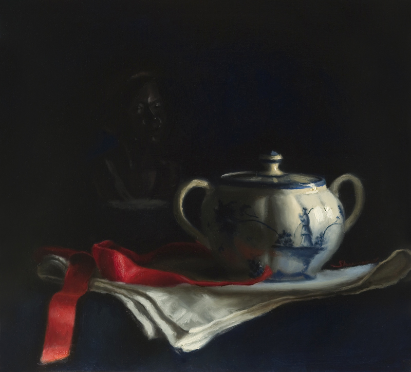 STILL LIFE, DELFT POT