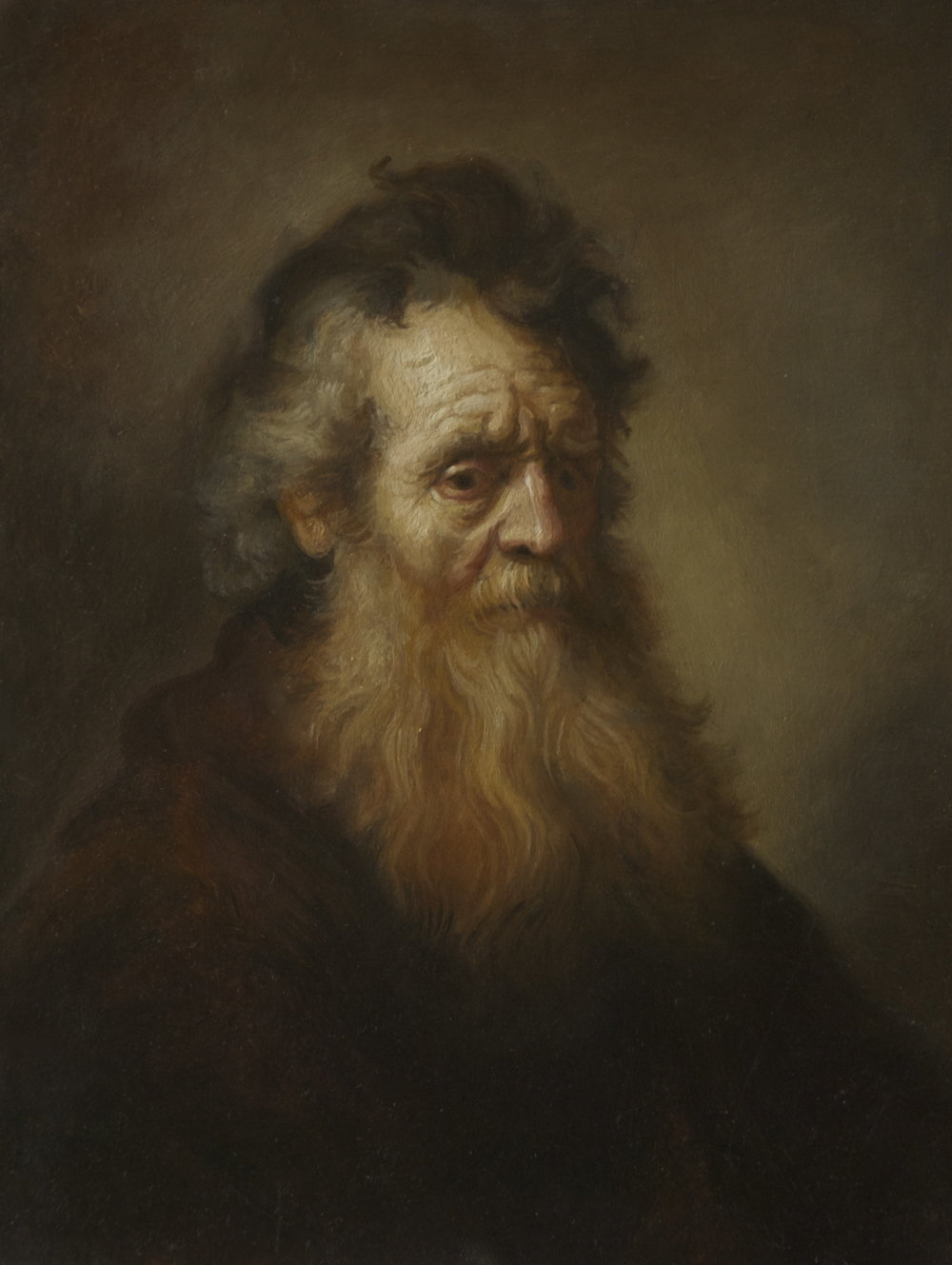 PORTRAIT OF AN OLD MAN, AFTER REMBRANDT