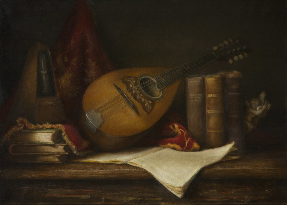 STILL LIFE, MANDOLIN