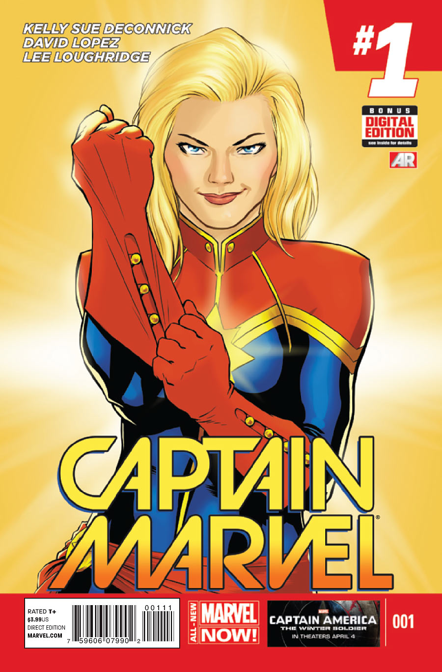 Captain Marvel, Vol. 1: Higher, Faster, Further, More