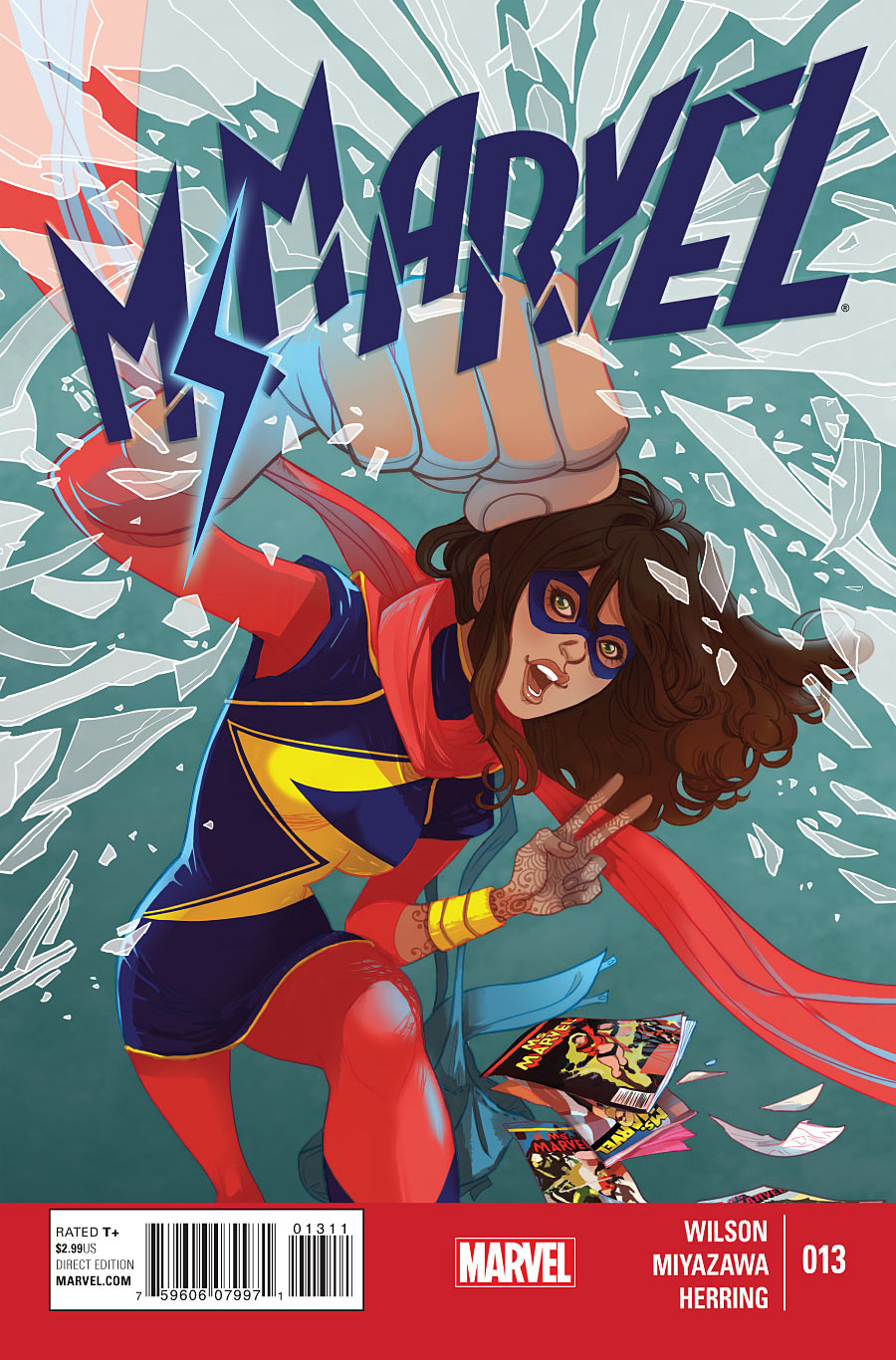 Ms. Marvel Vol 3: Crushed