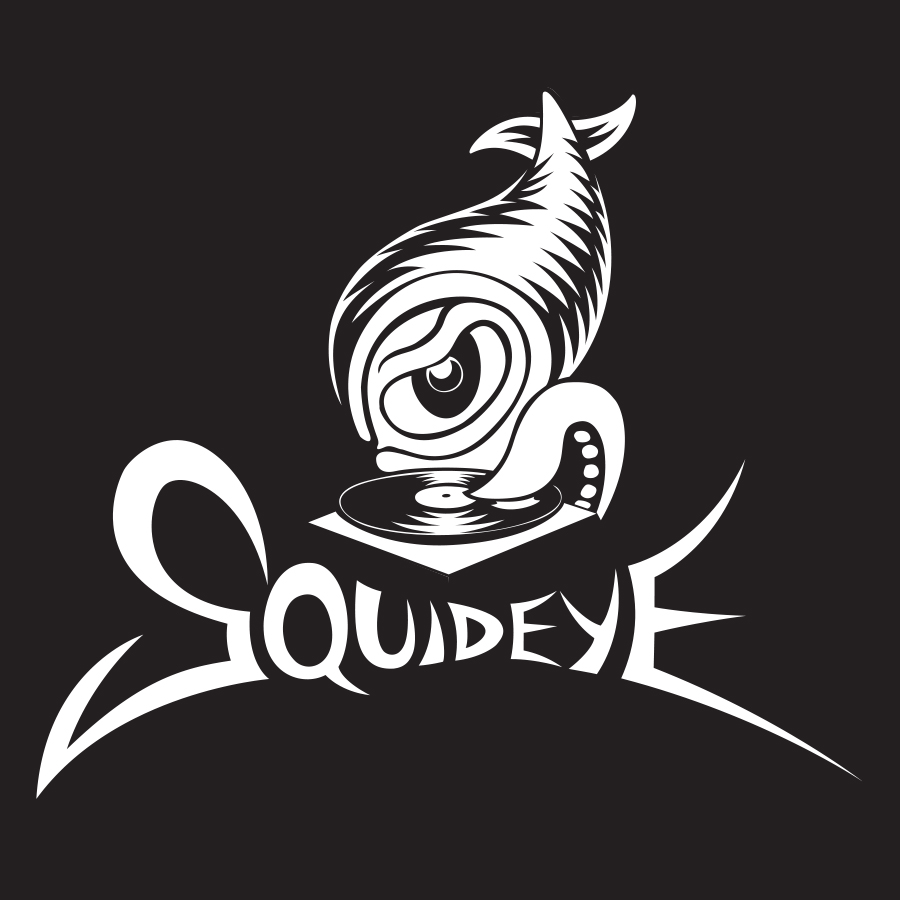 Logo for DJ Squideye  2015 digital