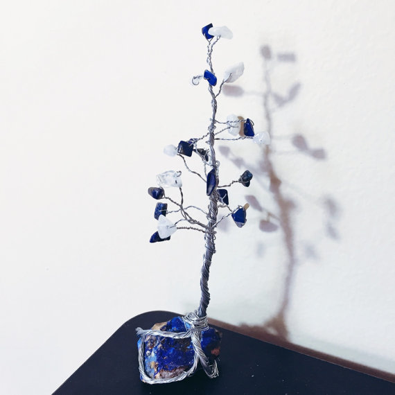 Perfect tree for your work station! Available on my etsy shop.