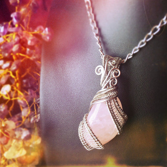 Click to purchase And Zen Some's romance-attracting Rose Quartz Wrap.