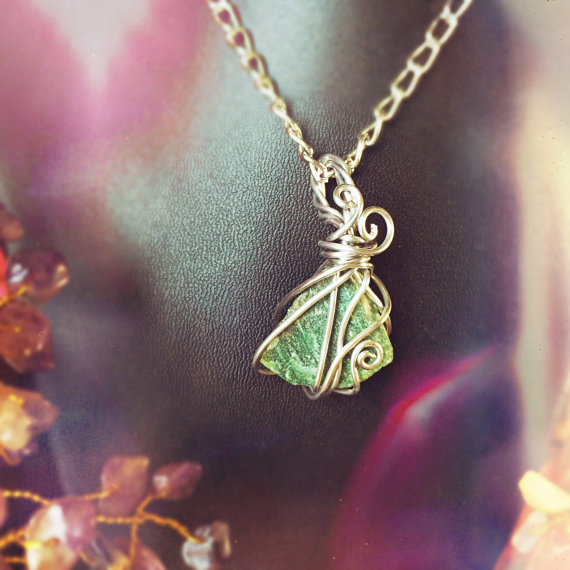 Click the photo above to view this simply wrapped aventurine mini on my etsy shop!