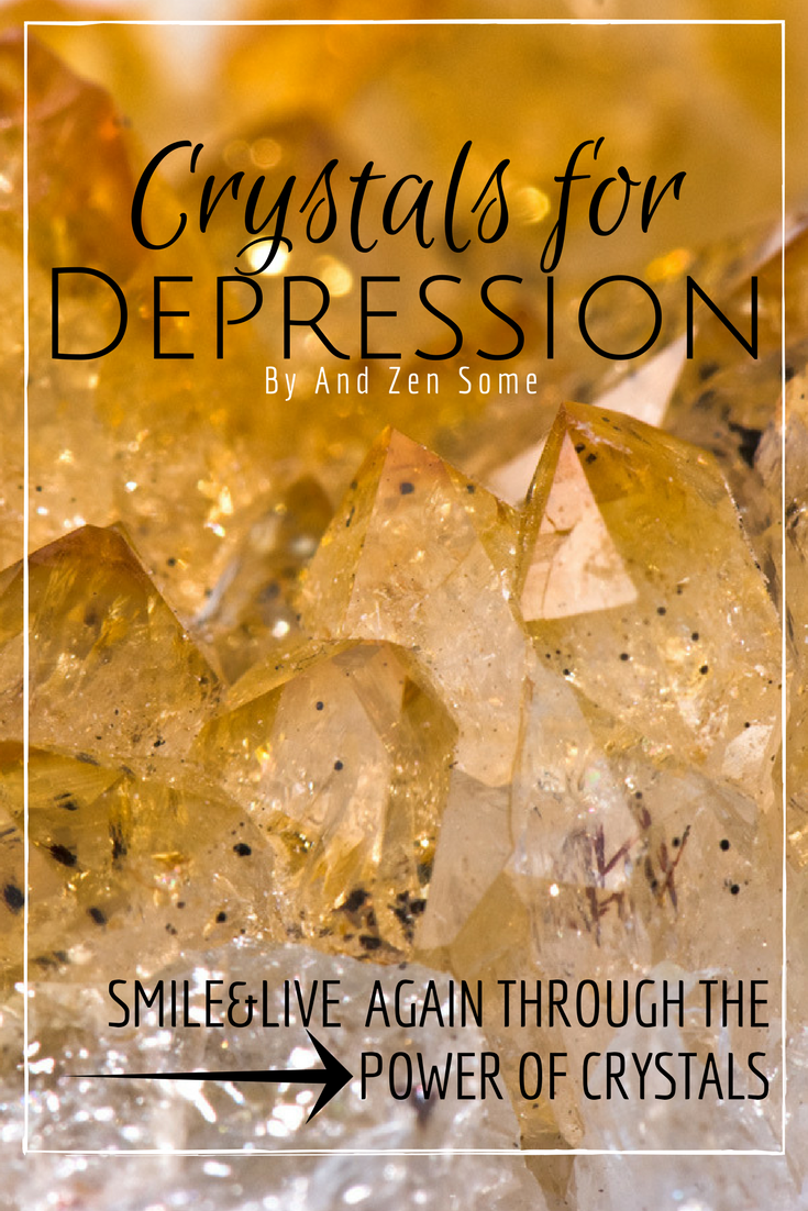 Depression can be caused by an imbalance in the chakras. Healing Crystals and Stones and a touch of spiritual protection can totally help you heal!