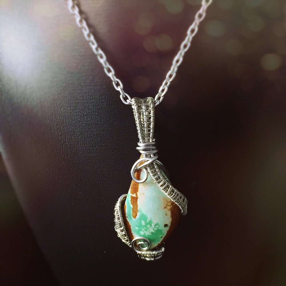 Variscite - Relieves any worries, fears, or doubts.