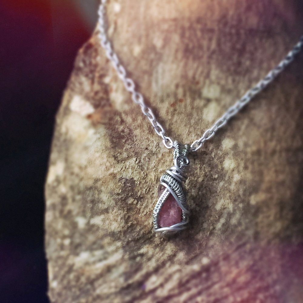 Snag this beautiful Pink Tourmaline pendant here!