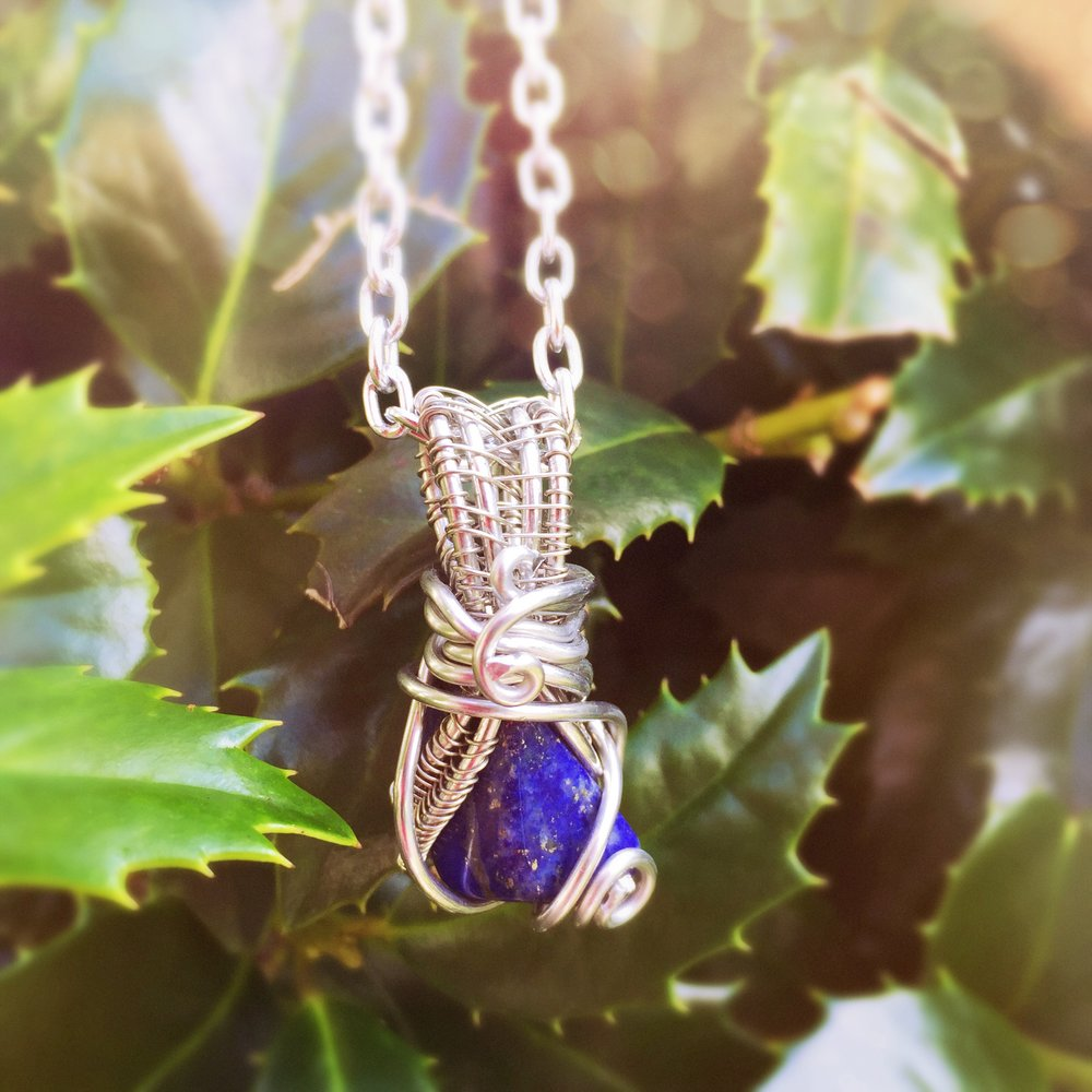 Lapis Lazuli  is amazing for Virgos.