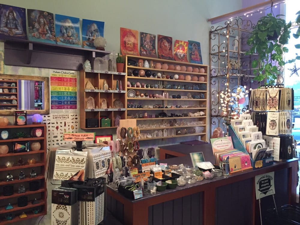 They have some beautiful pieces behind the counter, but many items around the store that you are free to touch. Photo from  Yelp