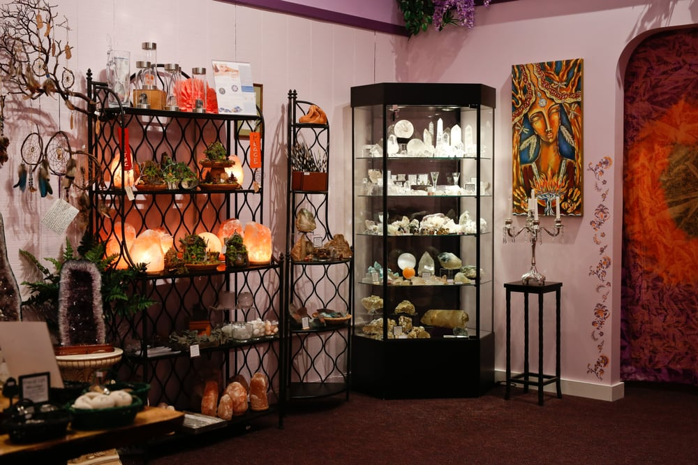 A metaphysical boutique! A true beauty of a shop. Photo from  yelp .