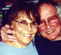 Aya (Tarlow) and David Meltzer