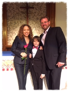 My Grandson, Grant's 5th Grade Graduation
