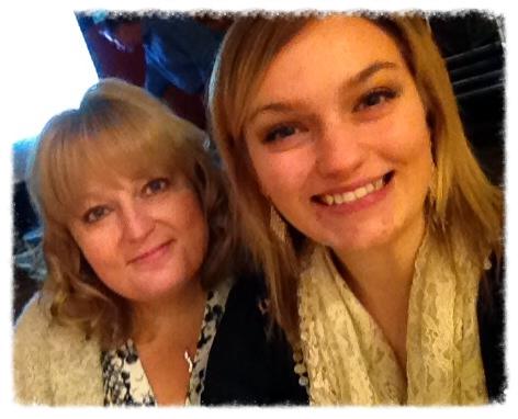 Sister Lori & Savannah, niece
