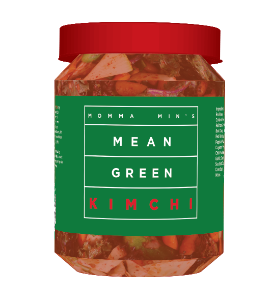 16 oz Mean Green Kimchi