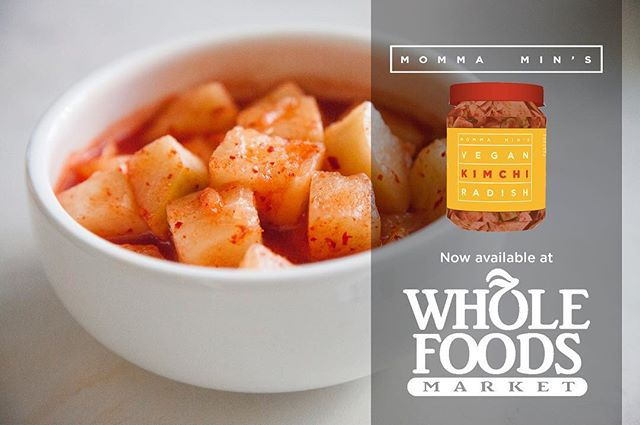 Vegan Kimchi Radish - Now Available at Whole Foods Market! #vegan #wholefoods #korean