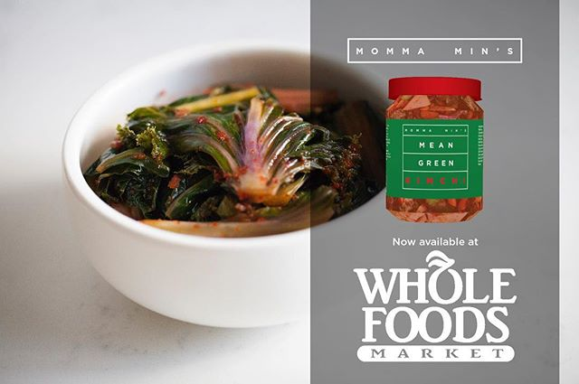 Mean Green is full of good-for-you greens like rainbow chard, bok choy and kale! Buy yours in the raw foods section at your local Whole Foods Market! #kale #kimchi #fermented