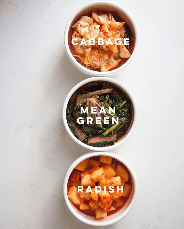 Which one is your favorite flavor? Tag @mmkimchi and let us know! #kimchi #mommamins #korean